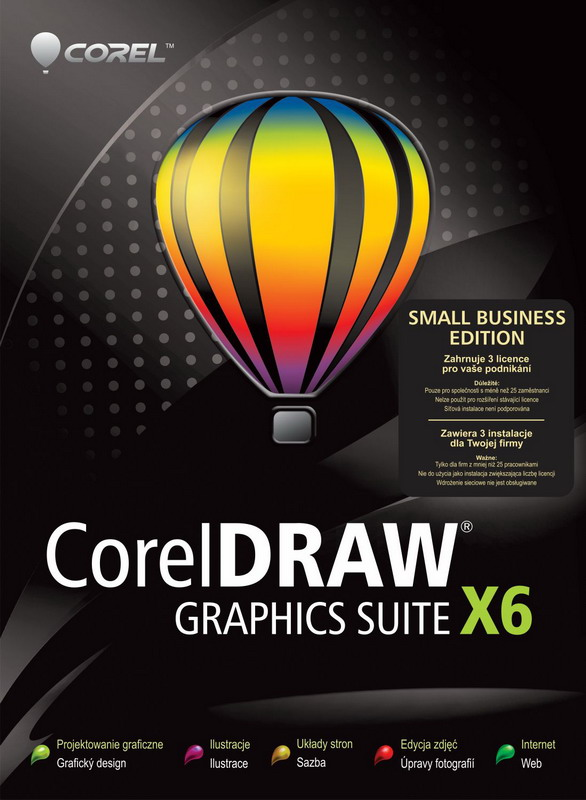 CorelDRAW Graphics Suite X6  Small Business Edition 32/64 Bit [Eng] + Keygen