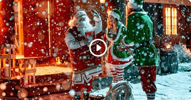 Wideo od Świętego Mikołaja - sprawdź jak to działa