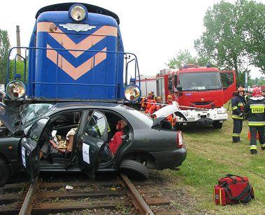 Bezpieczeństwo na drodze: uwaga na przejazdy kolejowe