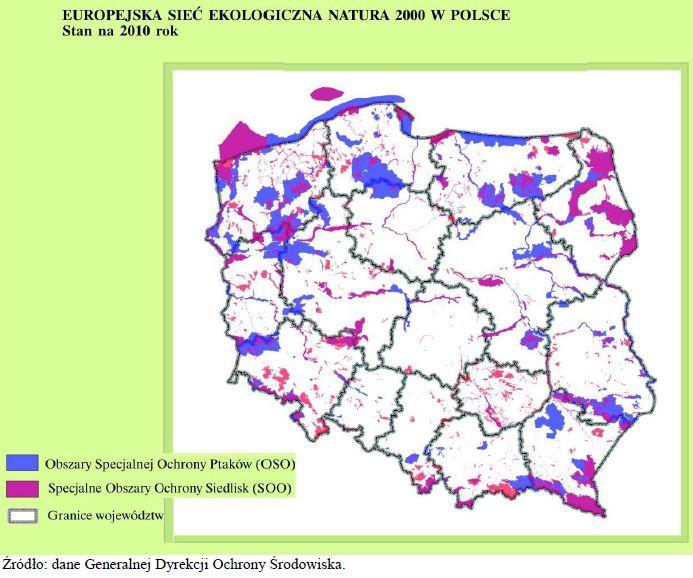 Europejska Siec Ekologiczna Natura 2000 W Polsce