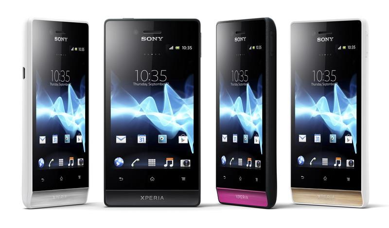 Smartfony Sony Xperia: miro i tipo