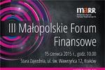 III Małopolskie Forum Finansowe
