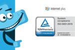 Kolejny rok certyfikacji ISO sukcesem agencji Internet Plus z Poznania
