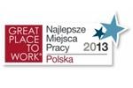 Lista Najlepszych Miejsc Pracy Polska 2013