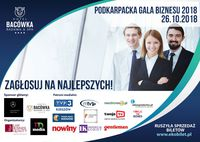 Podkarpacka Gala Biznesu. 26.10.2018