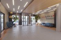 ATAL Baltica Towers - aparthotel, wizualizacja 2