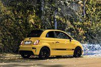 Abarth 500 595c Competizione - z tyłu i boku