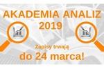 Akademia Analiz 2019 - konkurs dla studentów