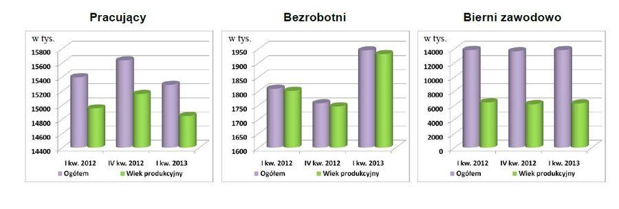 Aktywnosc Ekonomiczna Ludnosci I Iii 2013 Egospodarka Pl Raporty