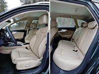 Audi A4 allroad quattro 2.0 TDI S tronic - fotele