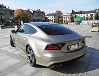 Audi A7 - widok z tyłu i boku