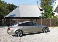Audi A7 - widok z boku