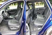 Audi SQ5 - wnętrze