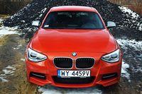 BMW M135i, widok z przodu