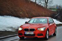 BMW M135i w trakcie jazdy