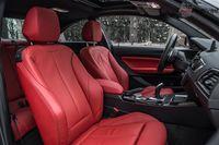 BMW 220i Coupe - fotele