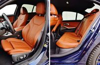 BMW 330e - fotele