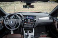 BMW X4 35d xDrive - wnętrze