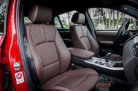 BMW X4 35d xDrive - fotele