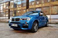 BMW X4 M40i - z przodu