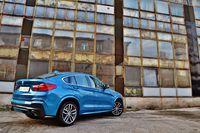 BMW X4 M40i - z tyłu