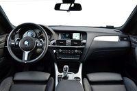 BMW X4 M40i - wnętrze