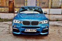 BMW X4 M40i - przód