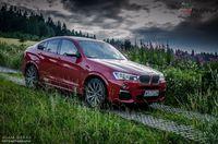 BMW X4 M40i - sylwetka z boku