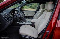 BMW X4 M40i - fotele
