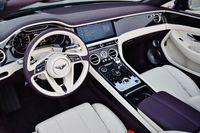 Bentley Continental GT V8 Convertible - deska rozdzielcza