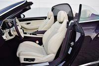 Bentley Continental GT V8 Convertible - fotele