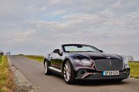 Bentley Continental GT V8 Convertible - z przodu