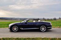 Bentley Continental GT V8 Convertible - profil