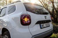 Dacia Duster 1.5 dCi Prestige EDC - tylne światło