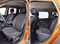 Dacia Duster Blue dCi Comfort - fotele