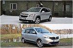 Chevrolet Orlando 1.4T LT+ vs Dacia Lodgy 1.2 TCE Prestige