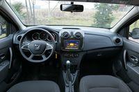 Dacia Sandero 1.0 75 KM - wnętrze