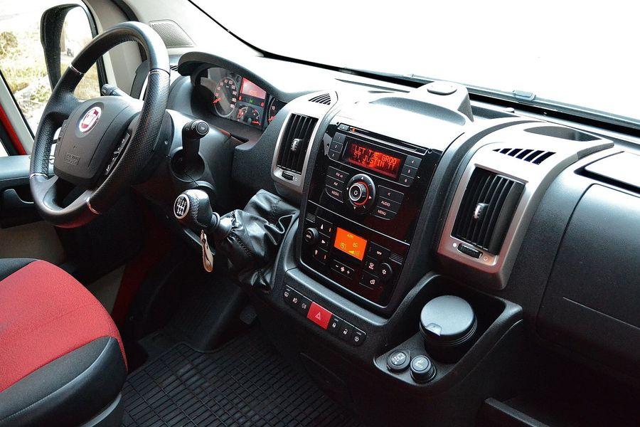 Fiat Ducato Maxi 2 3 Multijet Wnętrze