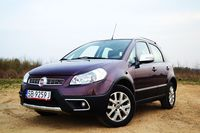 Fiat Sedici 2.0 MultiJet 4x4 Emotion idealny do miasta