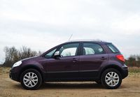Fiat Sedici 2.0 MultiJet 4x4 Emotion - bok