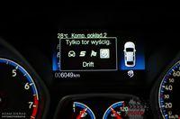 Ford Focus RS - zmiana ustawień samochodu