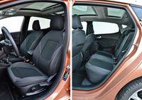 Ford Fiesta 1.0 Ecoboost Titanium - fotele