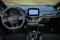 Ford Fiesta ST - deska rozdzielcza