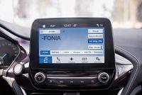 Ford Fiesta Vignale 1.0 100 KM - ekran