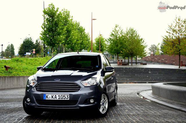 Ford Ka+ - miejski maluch