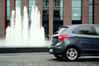 Ford Ka+ - z tyłu