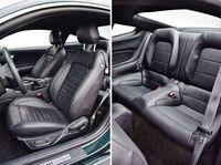 Ford Mustang Bullitt - fotele