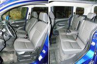 Ford Tourneo Connect 1.6 TDCi Titanium - przednie i tylne fotele
