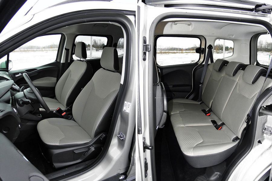 ford tourneo courier 1 6 tdci titanium dla rodziny i biznesu testy aut. Black Bedroom Furniture Sets. Home Design Ideas