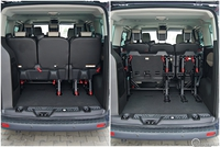 Ford Tourneo Custom 2.2 TDCi Titanium - przestrzeń ładunkowa